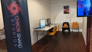 Chaos Shard Studio - GIG Ballarat booth